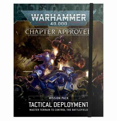 WH40K: Chapter Approved Mission Pack: Tactical Deployment (Englisch) - Games Workshop