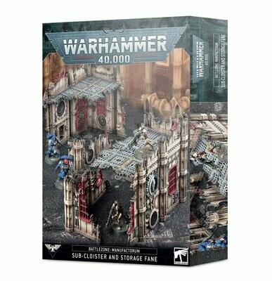 40K: Battlezone: Manufactorum – Subkloster und Tempelspeicher Sub-Cloister and Storage Fane - Games Workshop