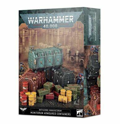 Battlezone: Manufactorum – Gepanzerte Munitorum-Container - Gelände - Games Workshop