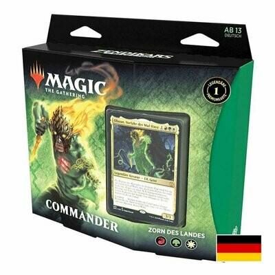 Magic The Gathering - Zendikar Rising Commander Deck (D) - Zorn des Landes - Magic