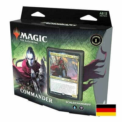 Magic The Gathering - Zendikar Rising Commander Deck (D) - Schleichangriff - Magic