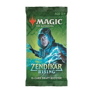 Magic The Gathering - Zendikar Rising Draft Booster (E) - Magic