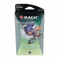 Magic The Gathering - Zendikar Rising Themen Booster - Schwarz - DE