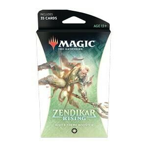 Magic The Gathering - Zendikar Rising Themen Booster - Weiss - DE