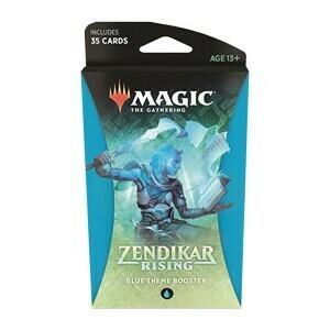 Magic The Gathering - Zendikar Rising Themen Booster - Blau - DE