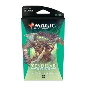 Magic The Gathering - Zendikar Rising Themen Booster - Grün - DE