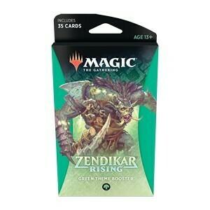 Magic The Gathering - Zendikar Rising Themen Booster - Grün - DE