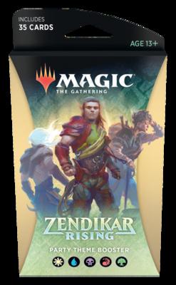 Magic The Gathering - Zendikar Rising Themen Booster - Abenteuergruppe - DE