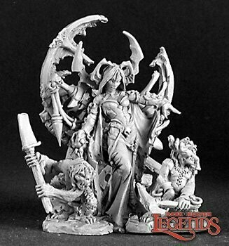 Ghoul queen&Servants - Dark Heaven Legends - Reaper Miniatures