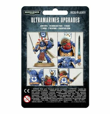 Ultramarines Upgrade Pack - Warhammer 40.000 - Games Workshop