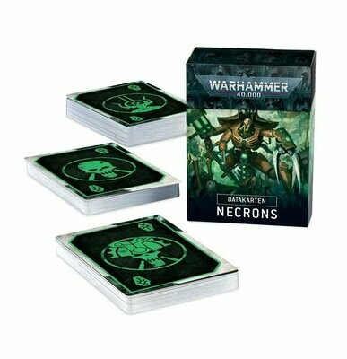 Datakarten: Necrons - Warhammer 40.000 - Games Workshop