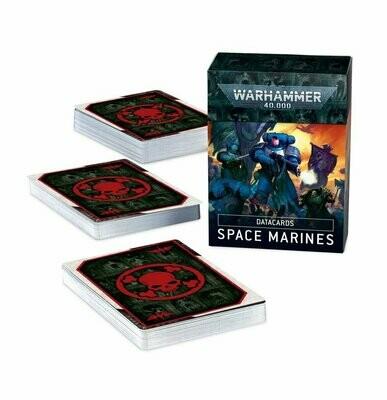 Datacards: Space Marines (Englisch) - Warhammer 40.000 - Games Workshop