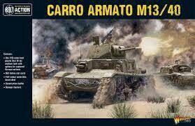 Italian Tank M13/40 Carro Armato/Semovente- Allies - Bolt Action