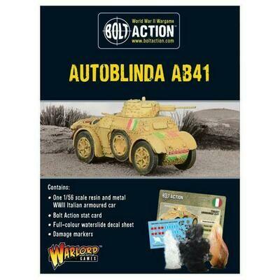 Autoblinda AB41 - Bolt Action - Warlord Games