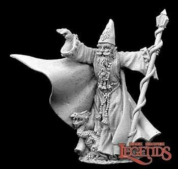 Torm Goldentome - Reaper Miniatures