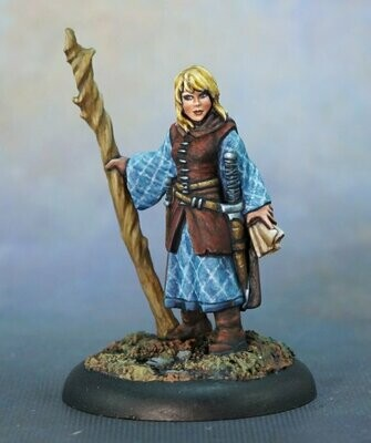 Asandris Nightbloom, Female Druid - Reaper Miniatures