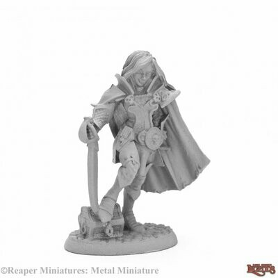 ReaperCon Iconic: Siobhan Redraven, Blood Wolves Swashbuckler - Dark Heaven Legends - Reaper Miniatures
