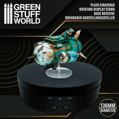 Drehbarer Ausstellungssteller 136mm Rotating Display - Greenstuff World