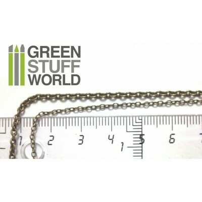 Hobby Kette 3 mm Chain - Voll 1 Meter - Greenstuff World