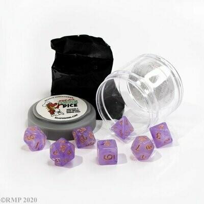Lucky Dice - Gem Purple - Reaper Miniatures