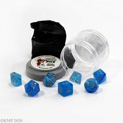 Lucky Dice - Gem Blue- Reaper Miniatures