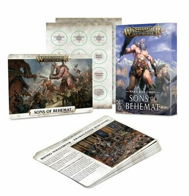 Warscroll Cards: Sons of Behemat (Englisch) - Games Workshop