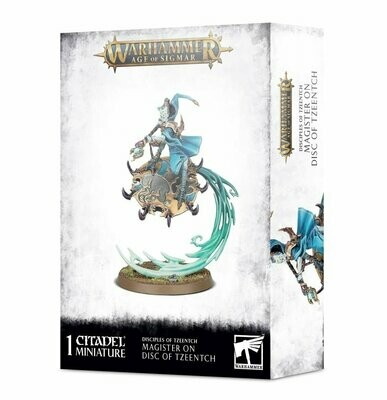 Magister auf Disc of Tzeentch - Daemons of Tzeentch - Warhammer Age of Sigmar - Games Workshop