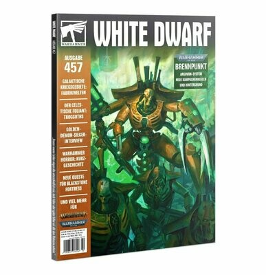 White Dwarf 457 Oktober 2020 (Deutsch) - Games Workshop
