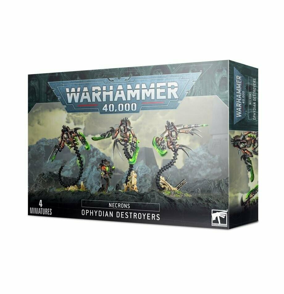 Ophys-Destruktoren Ophydian Destroyers - Necrons -Warhammer 40.000 - Games Workshop