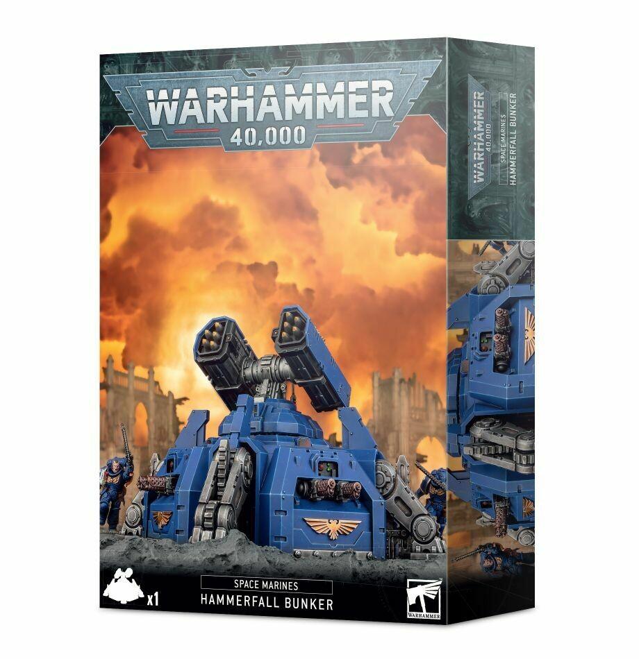 Hammerschlag-Sturmbunker Hammerfall Bunker - Space Marines - Warhammer 40.000 - Games Workshop