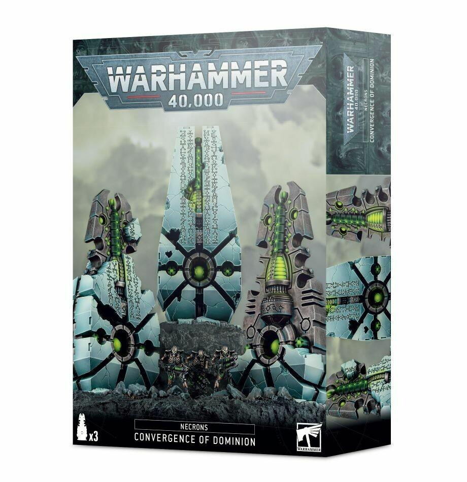 Konvergenz der Herrschaft Convergence of Dominion - Necrons -Warhammer 40.000 - Games Workshop