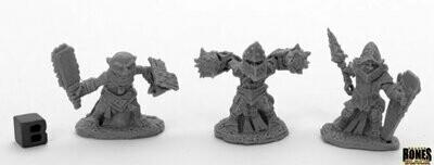 Bloodstone Gnome Warriors (3) - Bones - Reaper Miniatures
