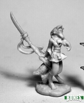 Dijoro, Female Kitsune - Bones - Reaper Miniatures