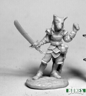 Kogo, Male Kitsune - Bones - Reaper Miniatures