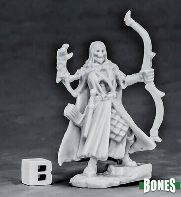 Undead Elf Archer - Bones - Reaper Miniatures