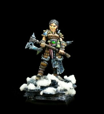 Hanei, Female Warrior - Reaper Miniatures