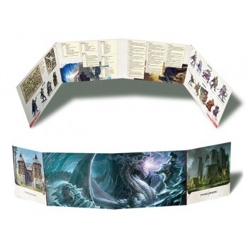 Dungeons and Dragons D&D Tyranny of the Dragons: Hoard of the Dragon Queen DM Screen - EN