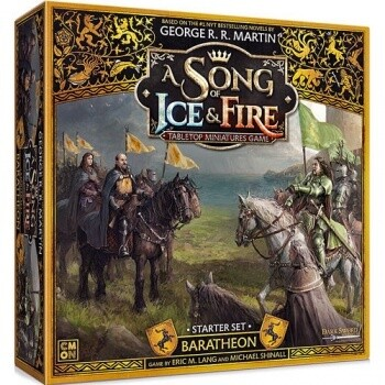 A Song Of Ice And Fire Core Box - Baratheon Starter Set - EN