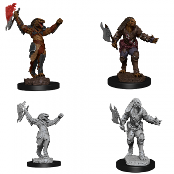 D&D Nolzur's Marvelous Miniatures - Female Dragonborn Fighter
