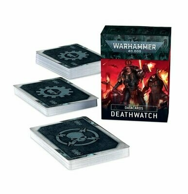 Datacards: Deathwatch (Englisch) - Warhammer 40.000 - Games Workshop