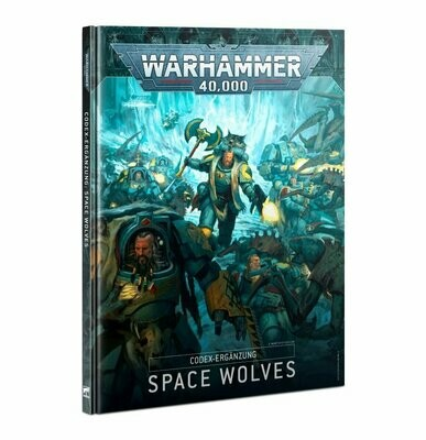Codex Ergänzung: Space Wolves (Deutsch) - Warhammer 40.000 - Games Workshop