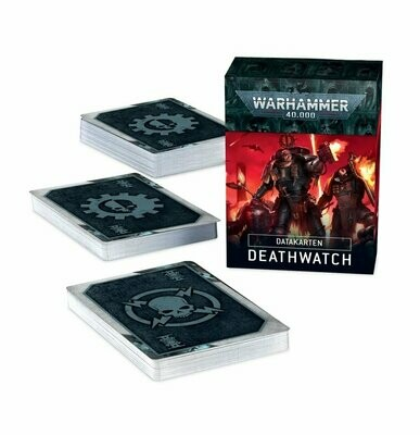 Datakarten: Deathwatch - Warhammer 40.000 - Games Workshop
