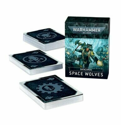 Datacards: Space Wolves (Englisch) - Warhammer 40.000 - Games Workshop