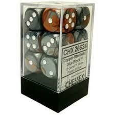 Copper/Steel - 16mm (12) - Chessex