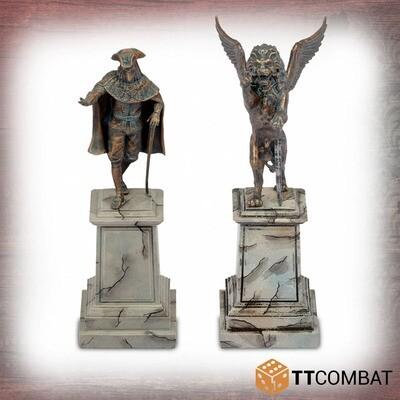 Venetian Statues - Fantasy Heroes - TTCombat Venice