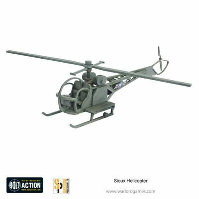 Sioux Helicopter (28mm) - Sarissa
