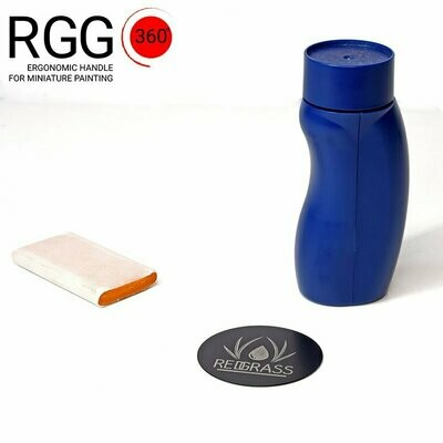RGG360 Miniature Holder V2 Ergonomic Handle - Redgrass Games