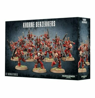 Khorne Berserker Chaos Space Marines - Warhammer 40.000 - Games Workshop