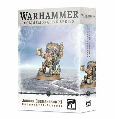 Jakkob Bugmansson XI: Brewmaster-General - Commemorative Series - Warhammer Age of Sigmar - Games Workshop