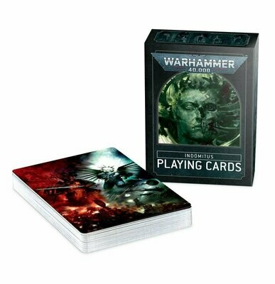 Warhammer 40.000: Indomitus-Spielkarten Playing Cards - Citadel - Games Workshop